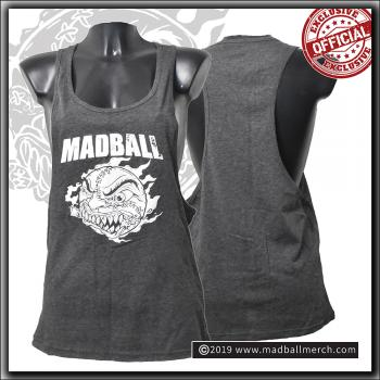 Madball - Ladies Loose Tank - Charcoal