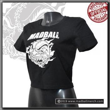 Madball - Ladies Cropped Tee - Black