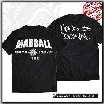 Madball - Hold It Down 2020 - T Shirt Black