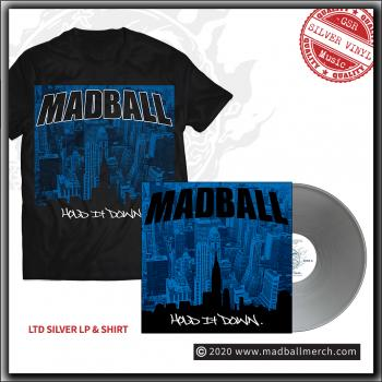 Madball - Hold It Down - LTD 20th anniversary LP plus T Shirt bundle