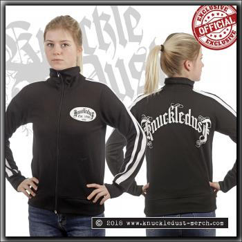 Knuckledust - Songs Of Sacrifice Logo - Trainer Jacket Girl's - Large
