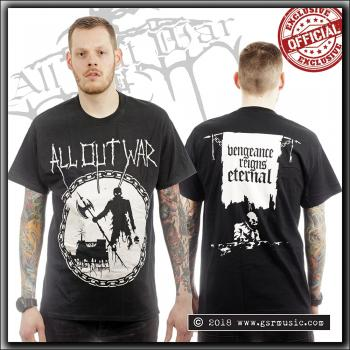 All Out War - Vengeance Reigns Eternal - T Shirt