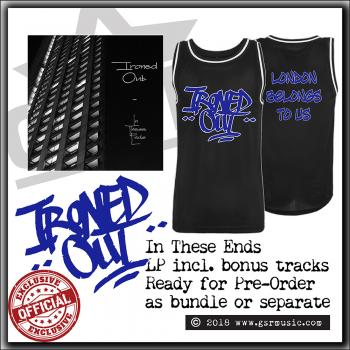 Ironed Out - London Belongs To Us/In These Ends - Basketball Jersey & LP bundle