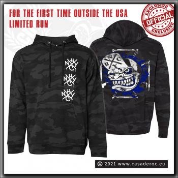 Casa De Roc - Triple OG Black Camo Hooded Sweater