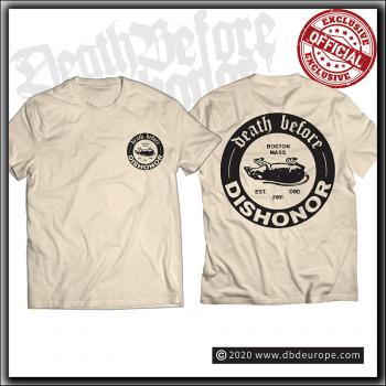 Death Before Dishonor - Dead Rat - Sand T Shirt