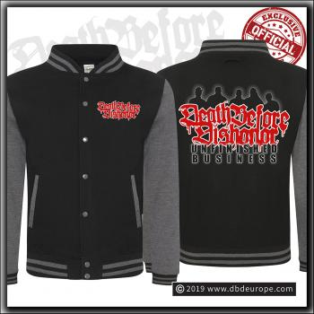 Death Before Dishonor - Unfinished Business - Varsity Jacket