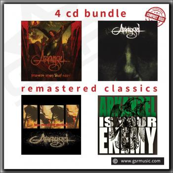 Arkangel - Remastered Limited Discography Digipack CD's bundle