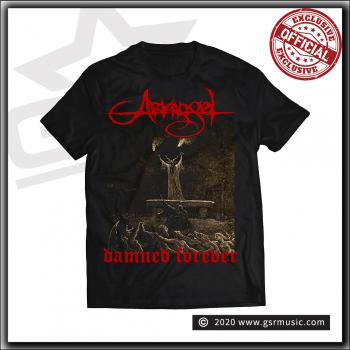 Arkangel - Damned Forever - Limited T Shirt Black