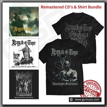 Length of Time - Remastered CD & Exclusive Limited T Shirt bundle