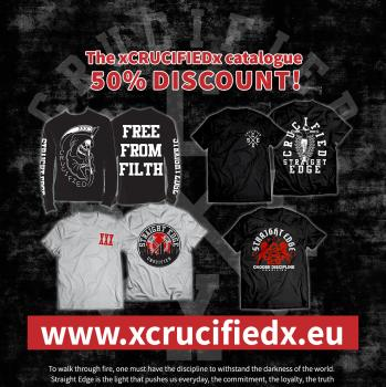 xCrucifiedx catalogue 50% Discount!
