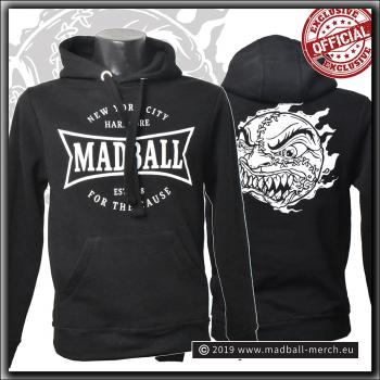 Madball - For The Cause - Hooded Sweater Jet Black