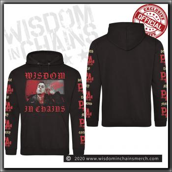 Wisdom In Chains - Nothing In Nature Respects Weakness - Hooded Sweater Black