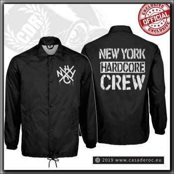 Casa De Roc - NYHC Drip Crew - Old School Windbreaker Black