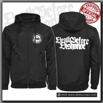Death Before Dishonor - Premium Black Windbreaker