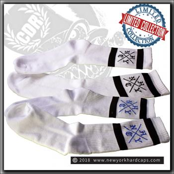 New York Hardcaps - NYHC cross - Socks