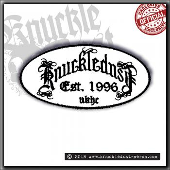 Knuckledust - Knuckledust Songs Of Sacrifice Logo - Patch