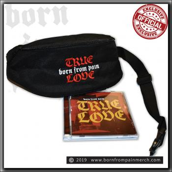 Born From Pain - True Love - CD & Limited Belt Bag bundle