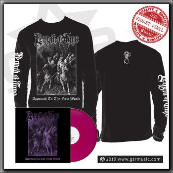 Length Of Time ‎– Approach To The New World - LP & Limited Long Sleeve bundle
