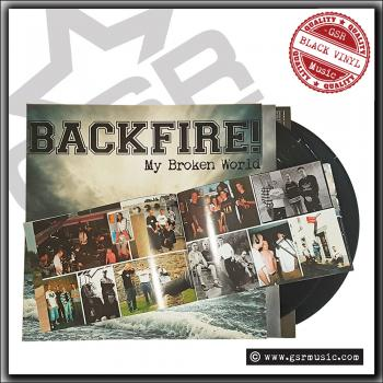 Backfire! - My Broken World / In Harm's Way - Double LP