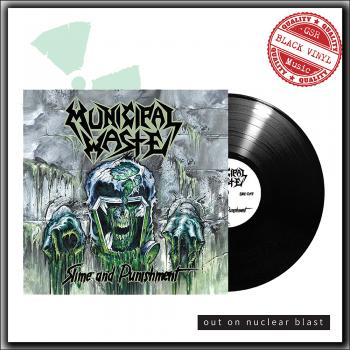 Municipal Waste - Slime and punishment - LP