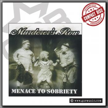Murderer's Row - Menace to Society - CD