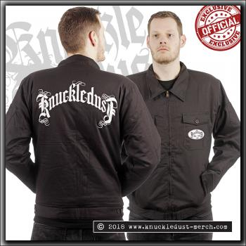Knuckledust - Songs Of Sacrifice logo - Worker Jacket