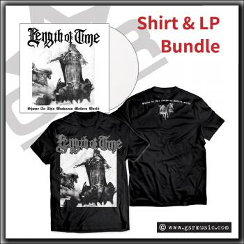 Length Of Time - Shame To This Weakness Modern World - Limited T Shirt & LP bundle