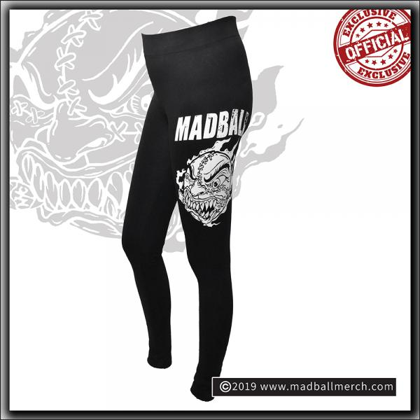Madball - Ladies Jersey Leggings - Black