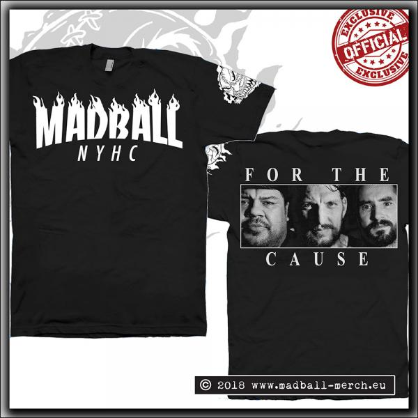 Madball - For The Cause - T Shirt Black