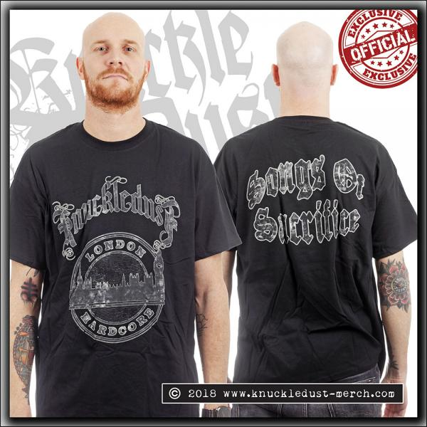 Knuckledust - Songs Of Sacrifice - T Shirt - Large