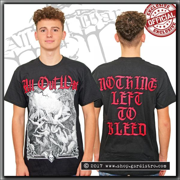 All Out War - Nothing Left To Bleed - T Shirt