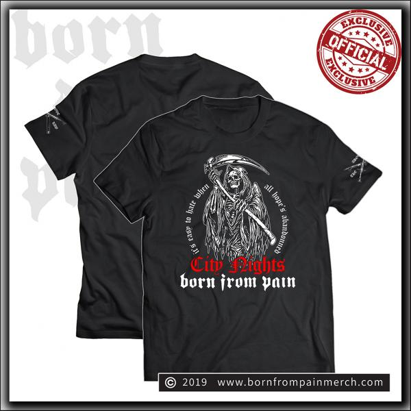 Born From Pain - City Nights - T Shirt Black
