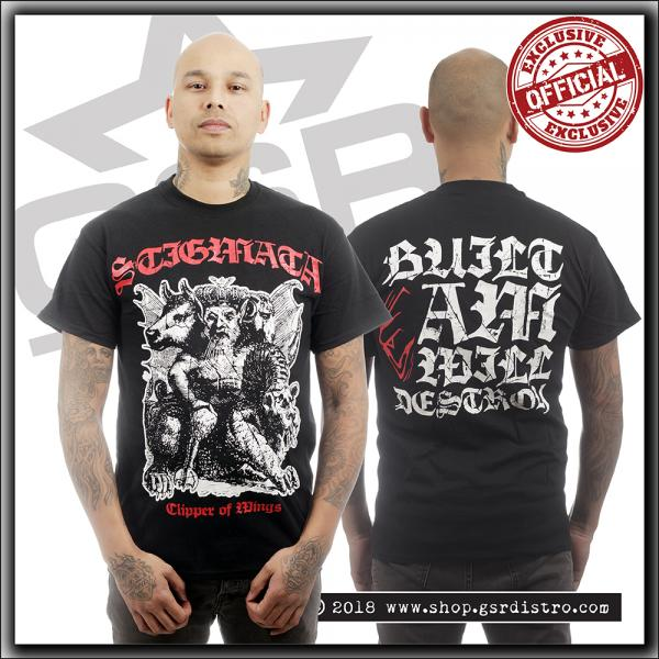 Stigmata - Built I AM I Will Destroy - T Shirt