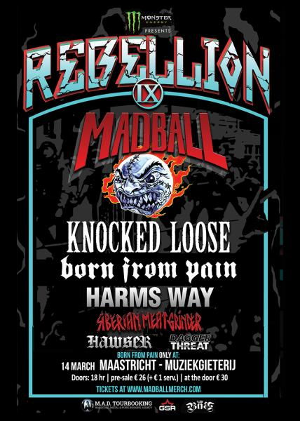 Ticket Rebellion Tour 9 - March 13 - Essen - Weststadthalle