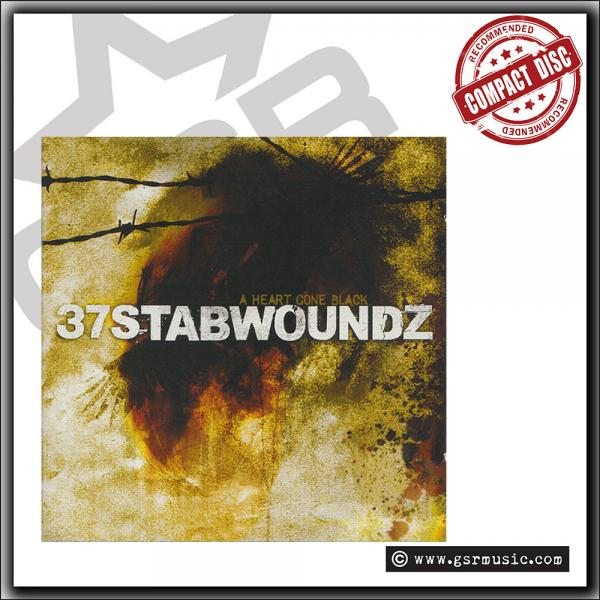 37 Stabwoundz - A Heart Gone Black - CD
